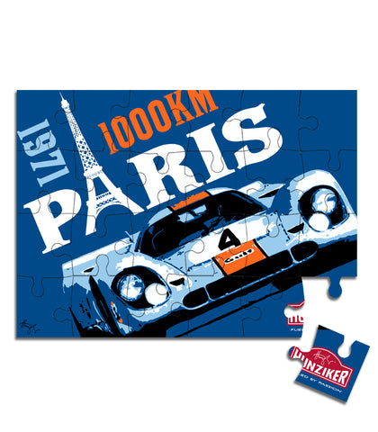1000KM Paris - Porsche 917K - 24 Piece Kid's Puzzle