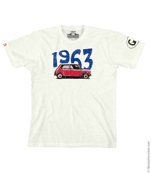 GB 1963 Mini Graphic Tee - Natural