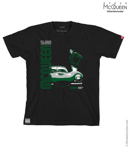 "Steve McQueen ""Green Rat"" Graphic Tee"