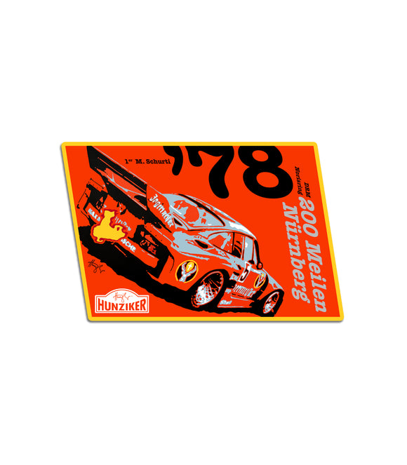 935 DRM Nürnberg 1978 Art Sticker