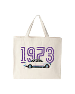 Germany 1973 BMW 2002 Tote Bag