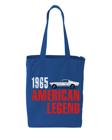 USA 1965 Mustang Tote Bag