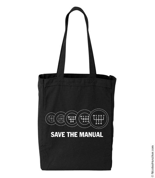 SAVE THE MANUAL - Tote Bag