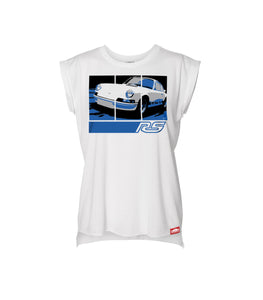 73 Carrera RS 2.7 - Women's Muscle Tee