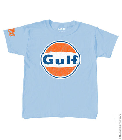 Gulf Racing Logo Youth Tee