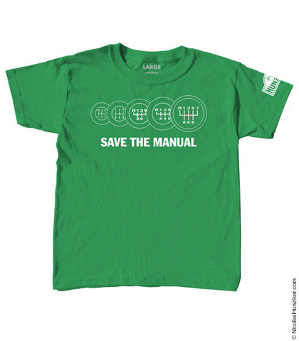 Save the Manual Youth Tee