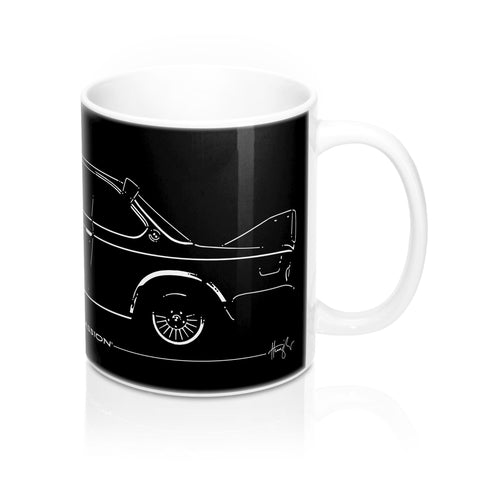 E9 Batmobile - Ceramic Mug