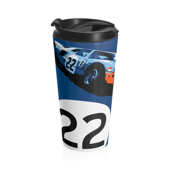 GT40 - Stainless Steel Travel Mug
