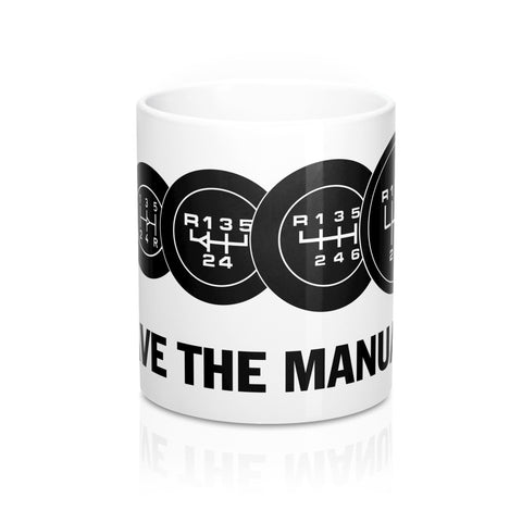 SAVE THE MANUAL -  Ceramic Mug