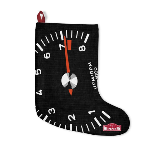 Racer's Tach - Christmas Stocking