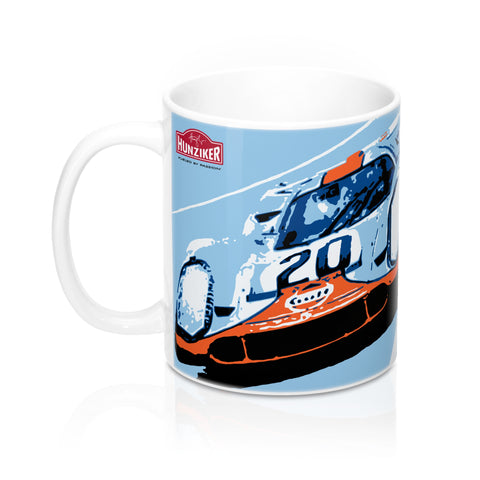 """No More Waiting"" - Steve McQueen Le Mans Trilogy - Ceramic Mug"