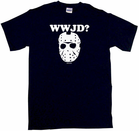 WWJD What Would Jason Do With Mask
