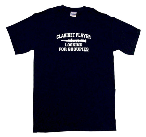 Clarinet Player Looking For Groupies Kids Tee Shirt