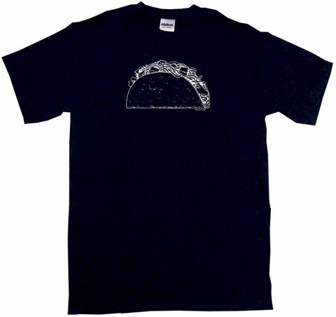 Taco in Shell Logo Tee Shirt OR Hoodie Sweat