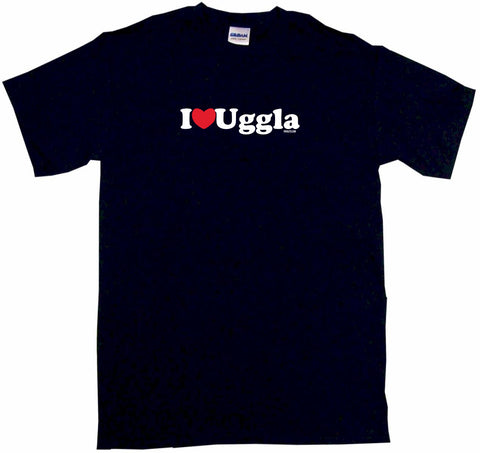 I Heart Uggla Tee Shirt OR Hoodie Sweat