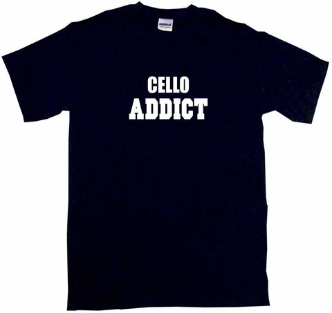 Cello Addict Tee Shirt OR Hoodie Sweat