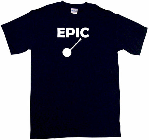 Epic Banjo Silhouette Tee Shirt OR Hoodie Sweat
