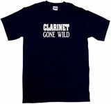 Clarinet Gone Wild Kids Tee Shirt