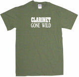 Clarinet Gone Wild Men's Tee Shirt