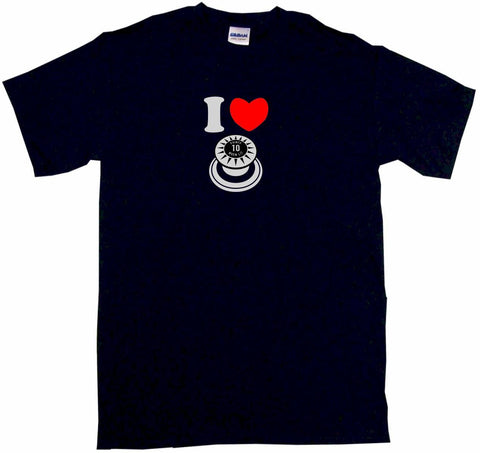 I Heart Love Pinball Bumper Logo Tee Shirt OR Hoodie Sweat