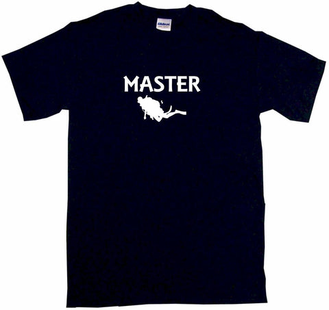 Scuba Diver Logo Master Tee Shirt OR Hoodie Sweat