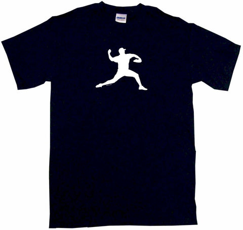 Baseball Pitcher Tee Shirt OR Hoodie Sweat