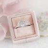 gatsby art deco engagement ring