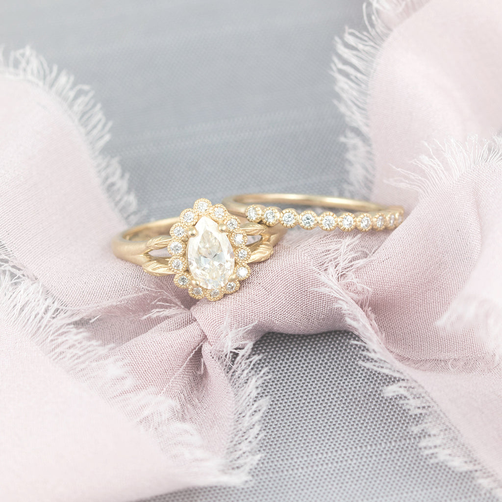Design your own vintage engagement ring