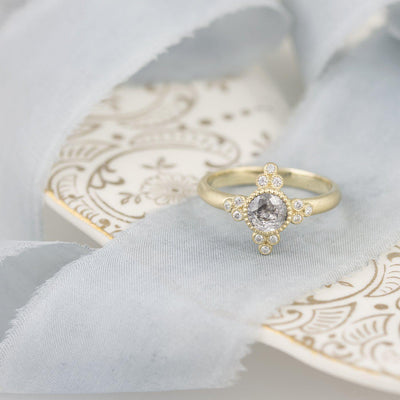 Antoinette Diamond Ring