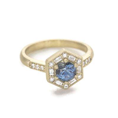 Lorelei Art Deco Ring