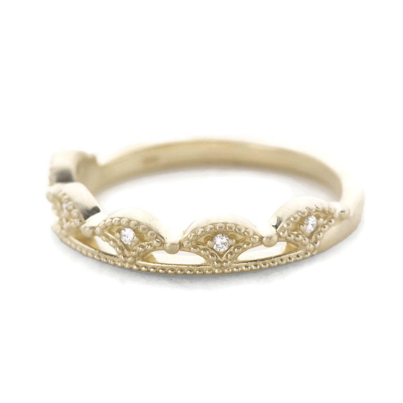 gold crown stacking band