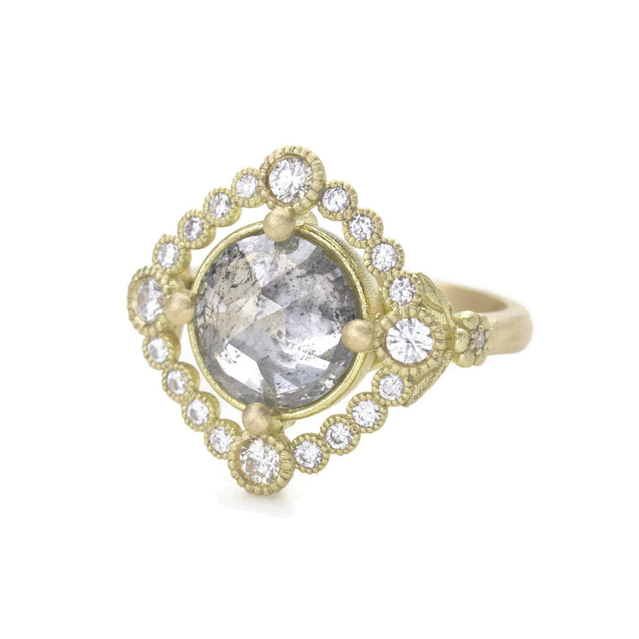 3ct. Grey Diamond Scarlett Ring