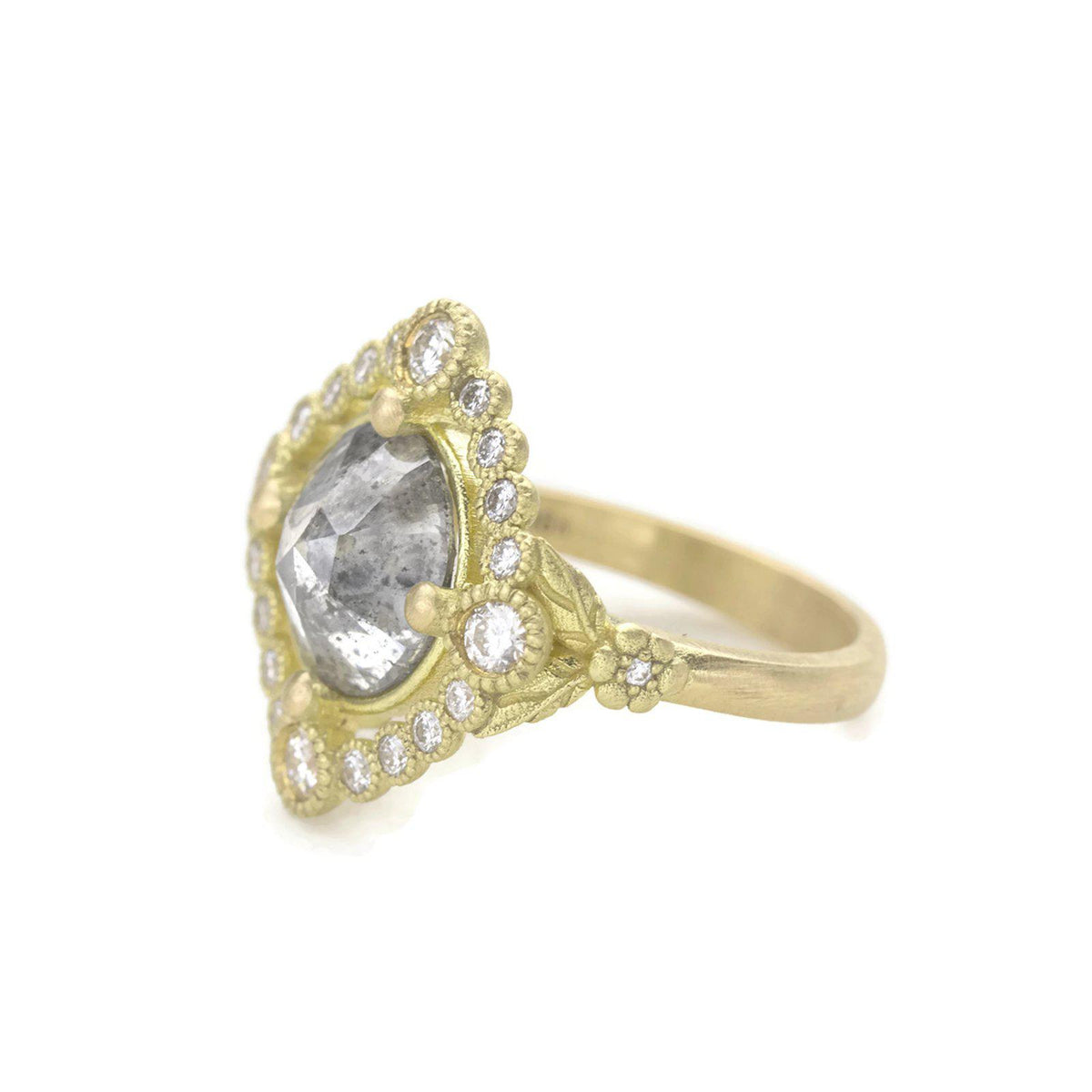Scarlett Salt and Pepper Diamond Ring-3 ct.