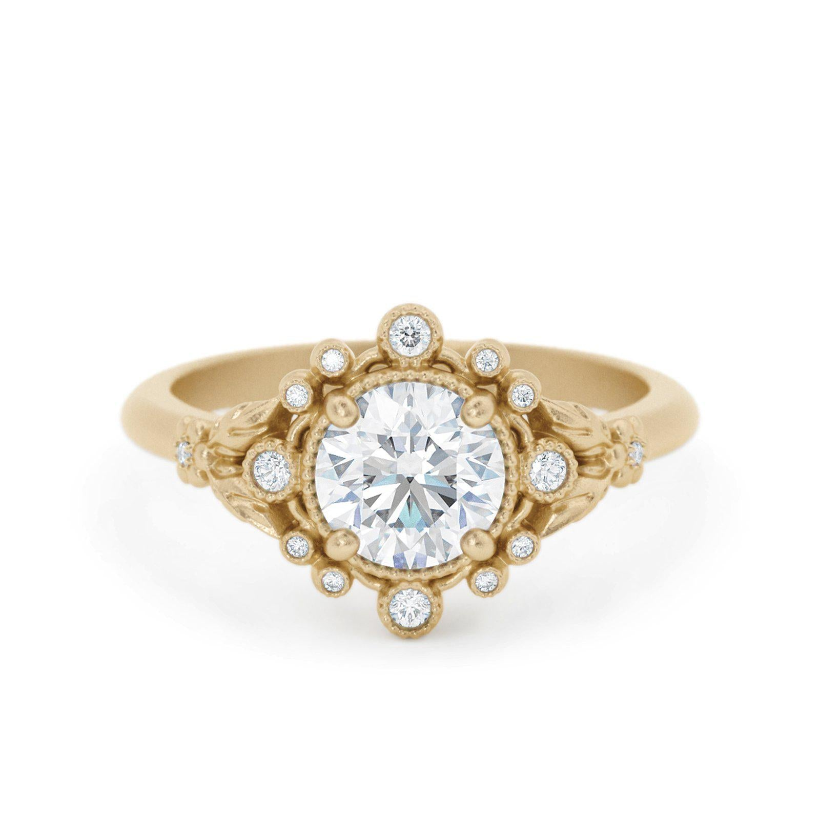 Anastasia Diamond Bohemian Engagement Ring