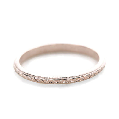 Blanche 14K Wedding Band