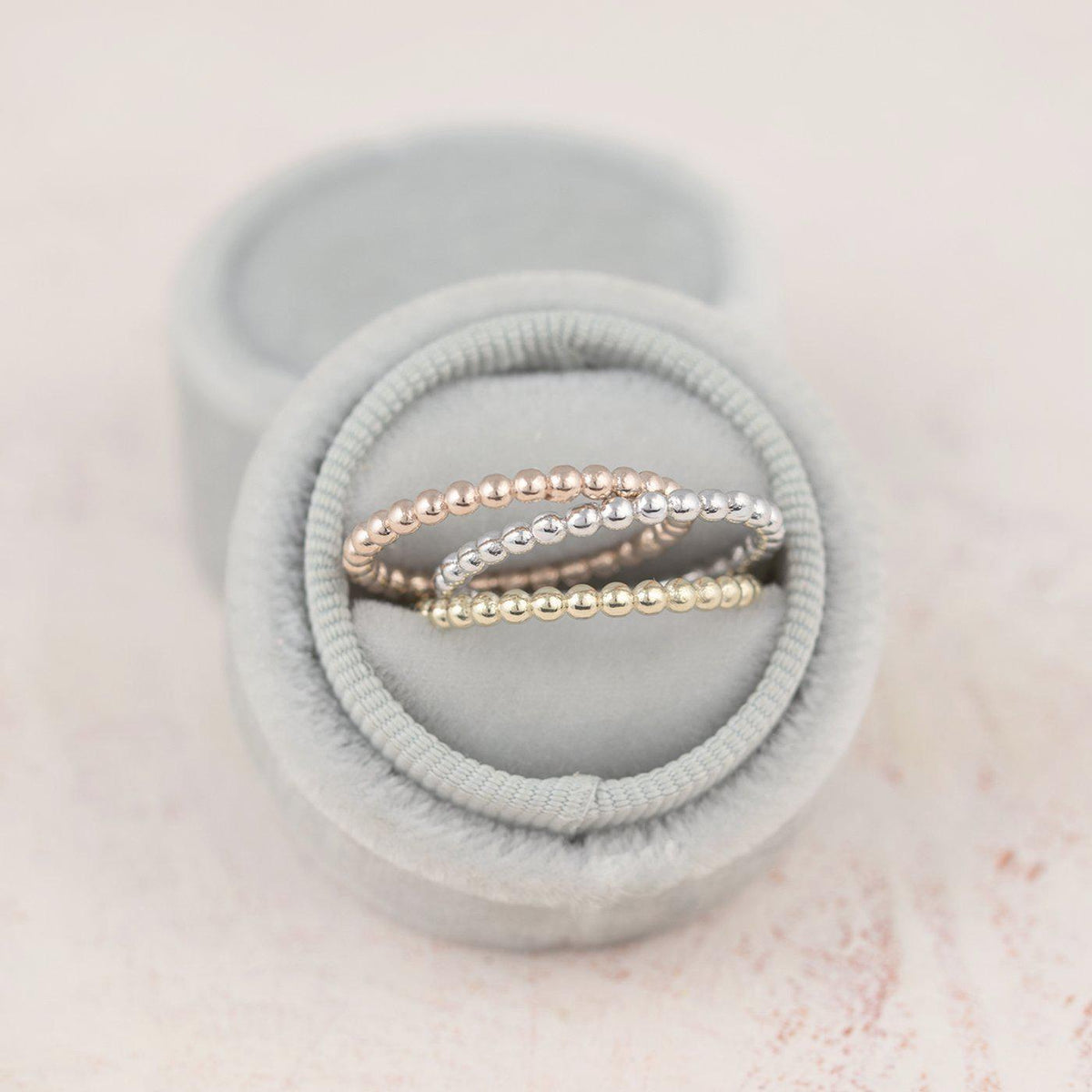 Dewdrop 14K Wedding Band