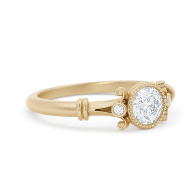 Florence Diamond Ring vintage style solitaire