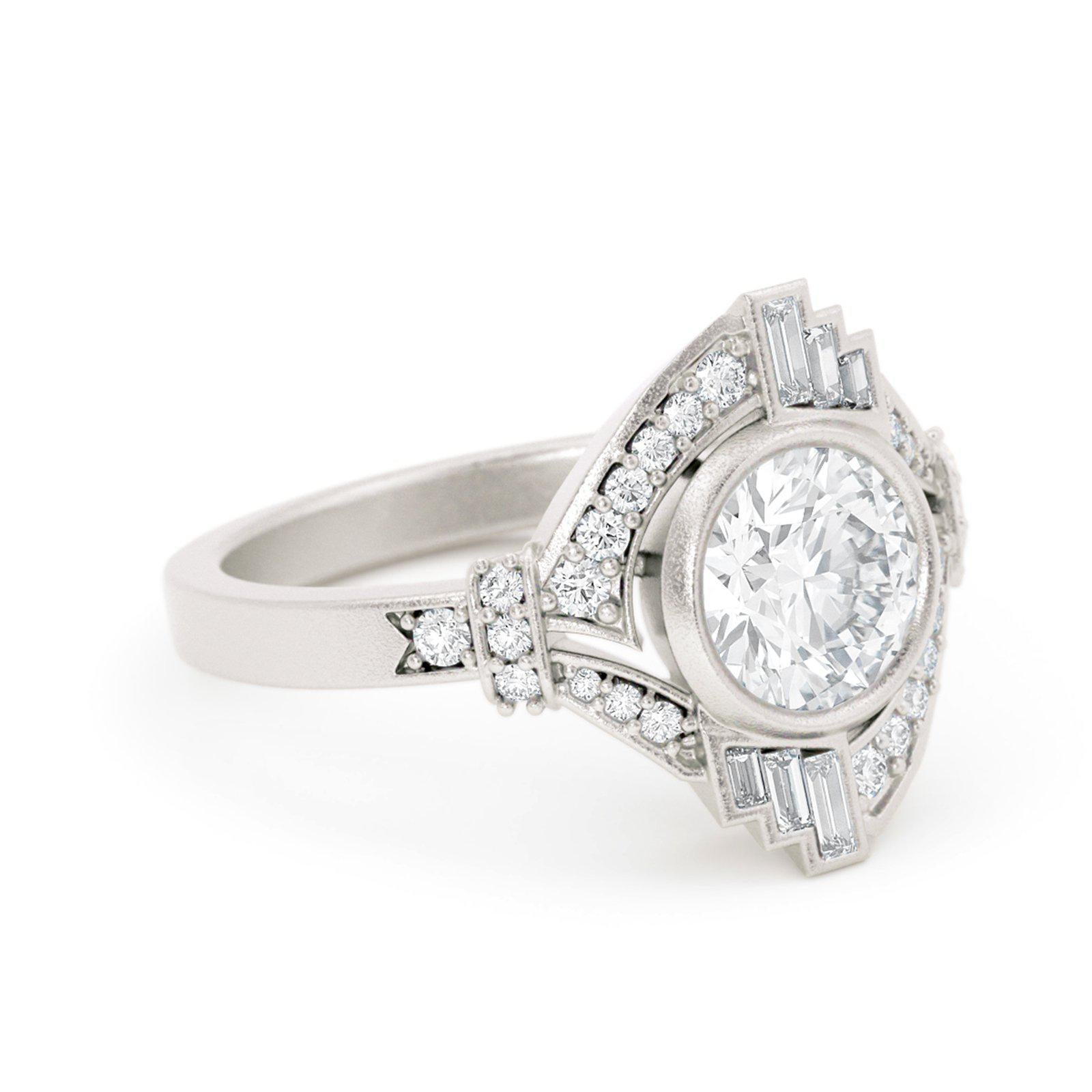 Mabel Louise Art Deco Diamond Ring