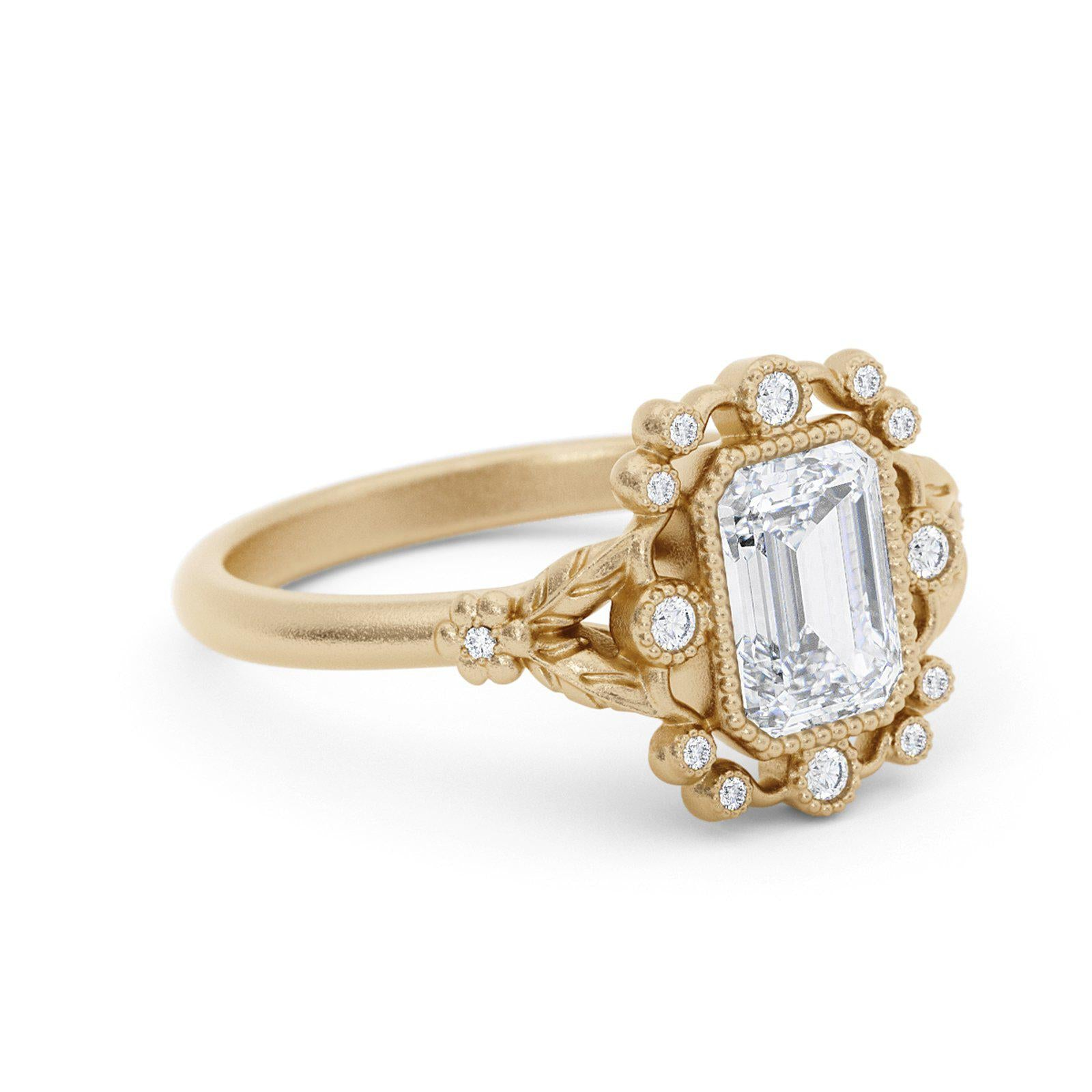 Mirabelle Diamond Bohemian Engagement Ring