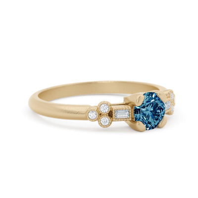 Norah Mae Delicate Montana Sapphire Ring