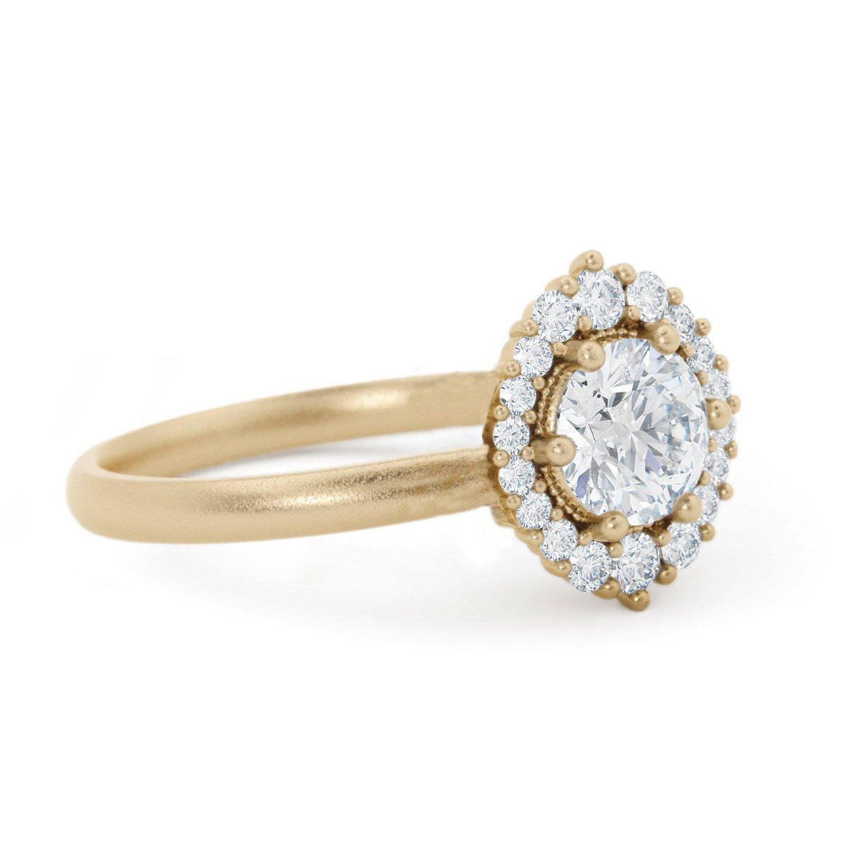 Orla Diamond Halo Engagement Ring