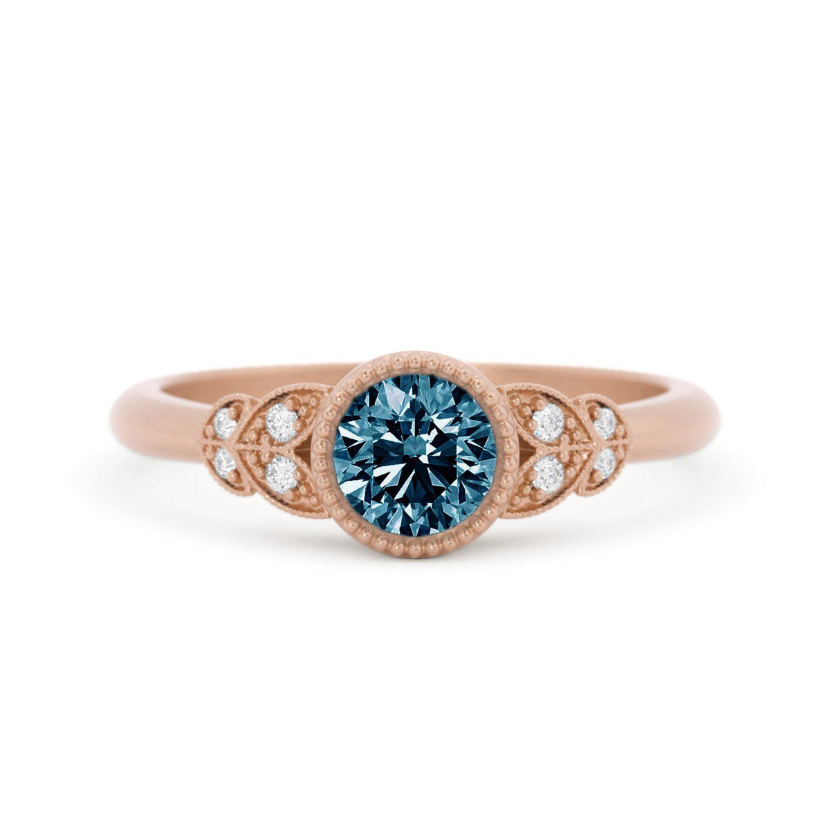 Viola Montana Sapphire Ring Rose Gold