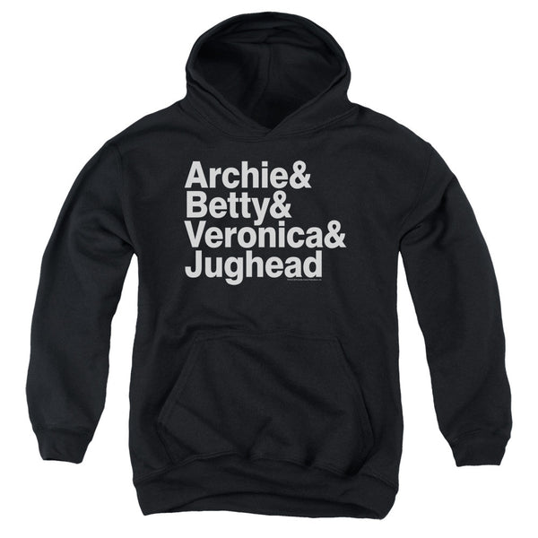Archie Comics: Ampersand List Youth Hoodie - NerdArmor.com