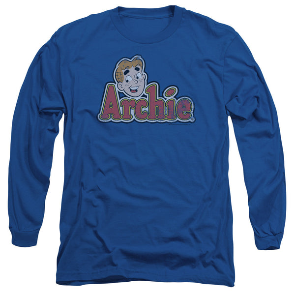 Archie Comics: Distressed Archie Logo Long Sleeve T-Shirt - NerdArmor.com