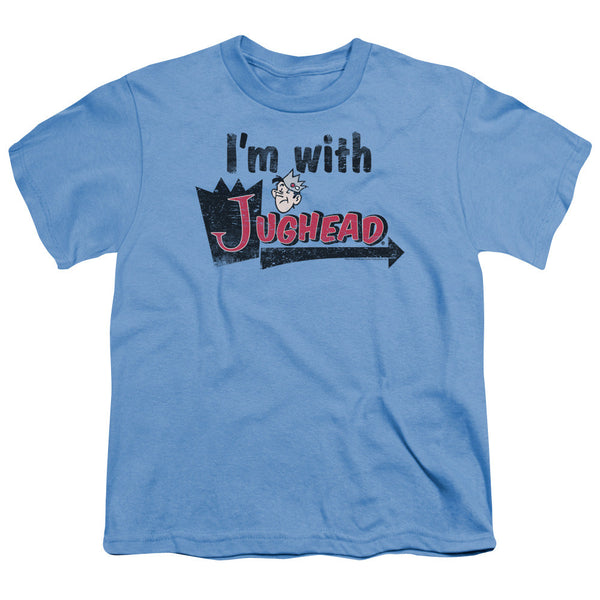 Archie Comics: I'm With Jughead Youth T-Shirt - NerdArmor.com