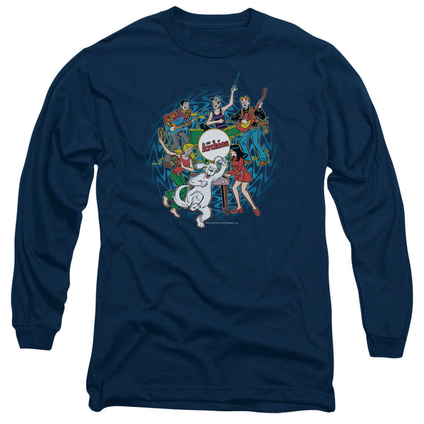 Archie Comics: Psychadelic Archies Long Sleeve T-Shirt - NerdArmor.com
