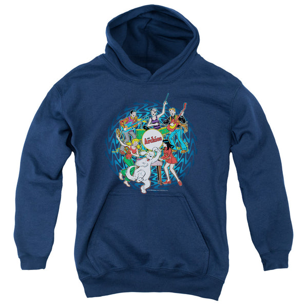 Archie Comics: Psychadelic Archies Youth Hoodie - NerdArmor.com