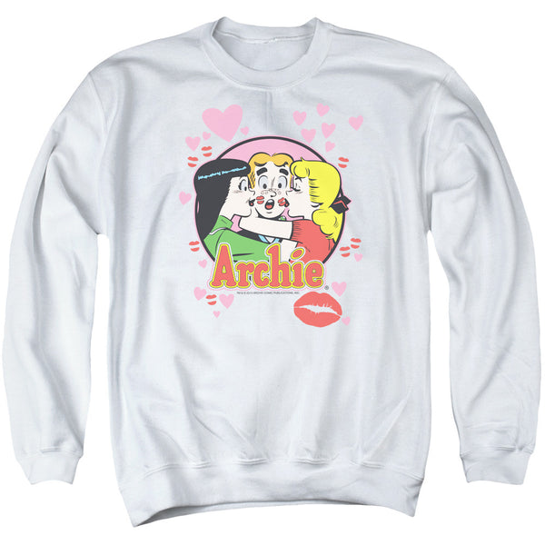 Archie Comics: Kisses For Archie Crewneck Sweatshirt - NerdArmor.com