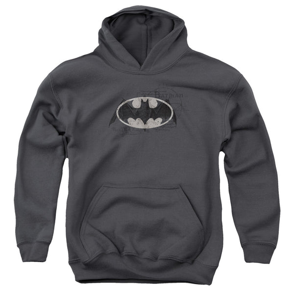 Batman: Arcane Bat Logo Youth Hoodie - NerdArmor.com