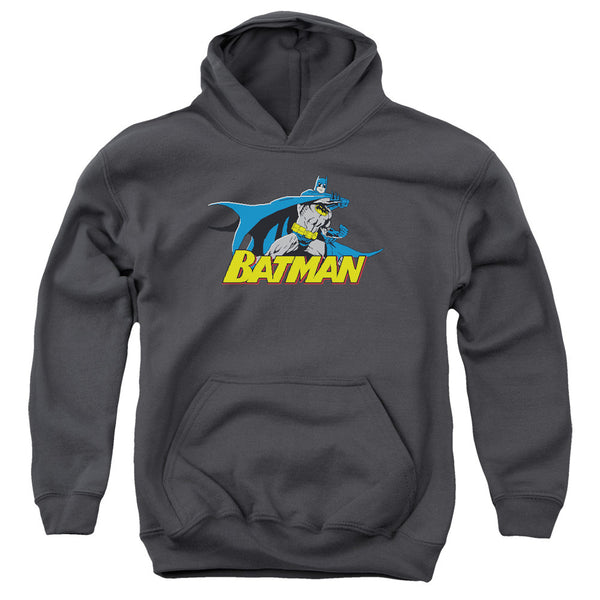 Batman: 8 Bit Cape Youth Hoodie - NerdArmor.com